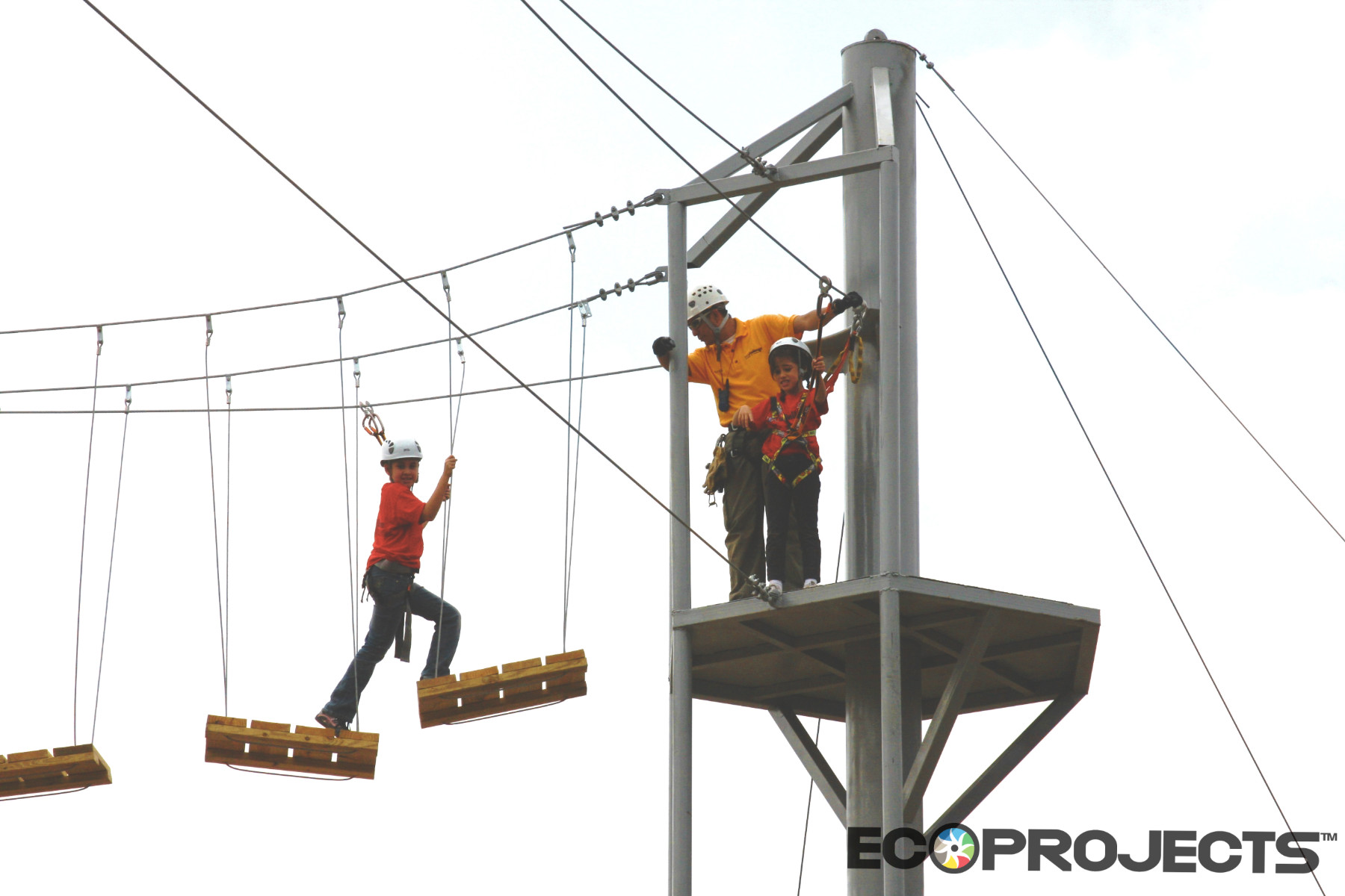 Challenge Center, Centro De Retos, High Ropes