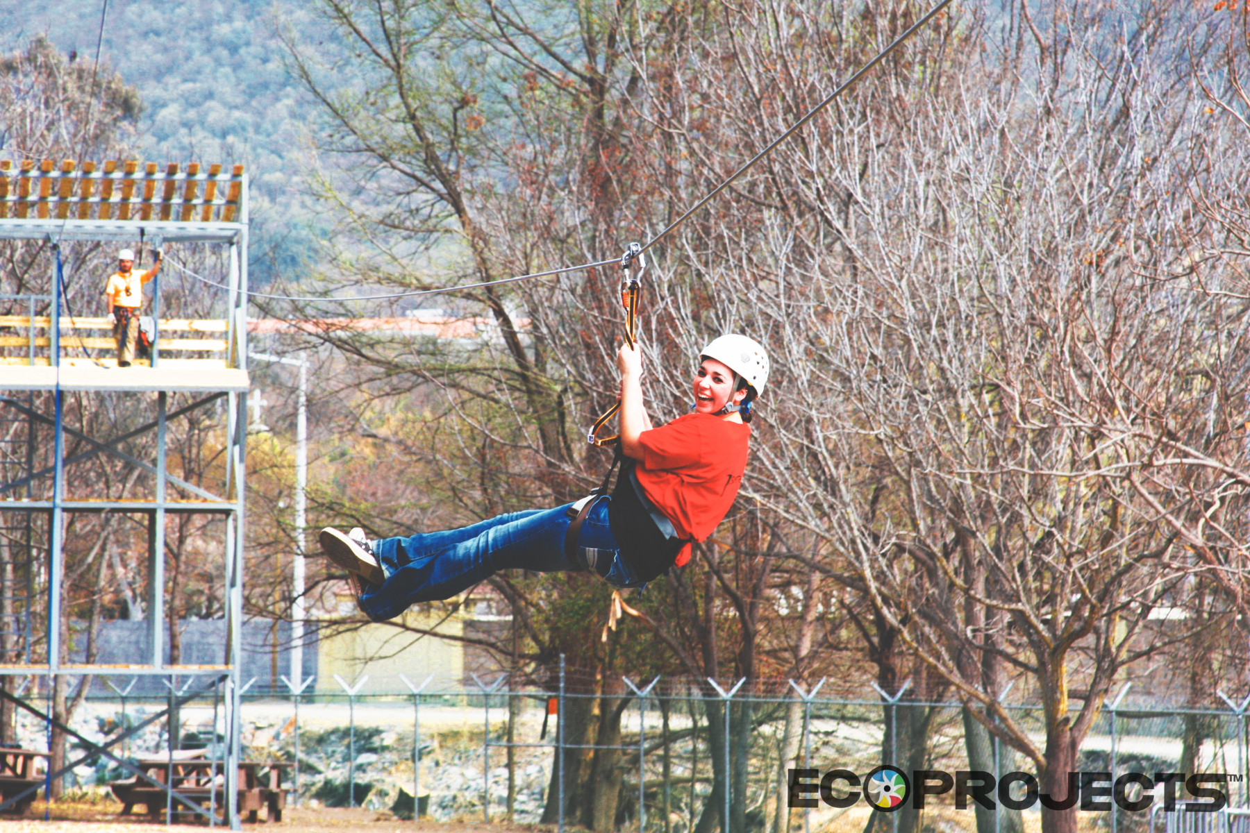 Tirolesa Zip Line36